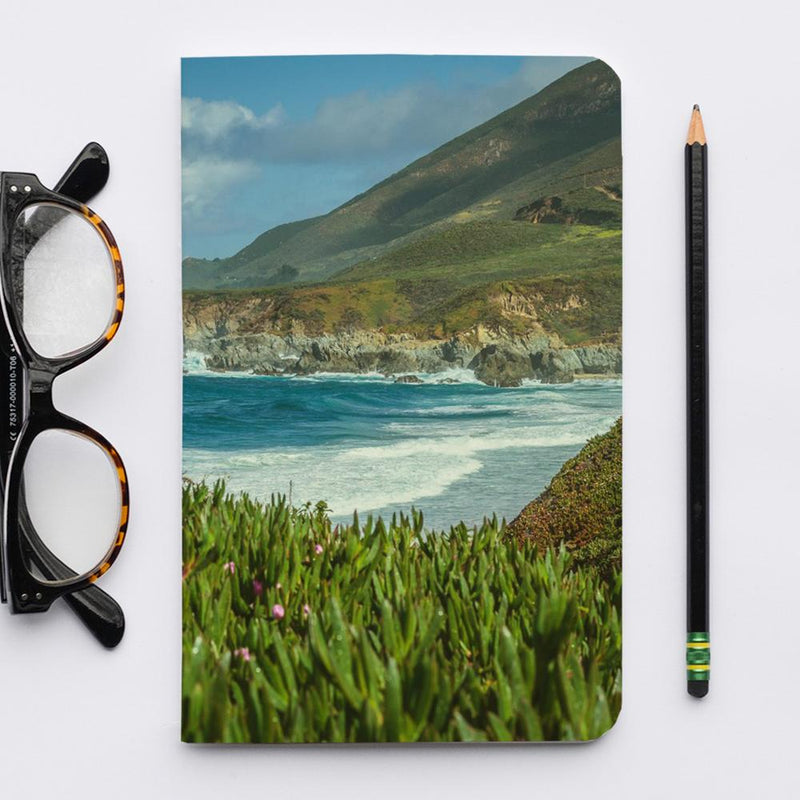 Stitched Notebook | Les Classics: Big Sur - Lemonee on the Hills