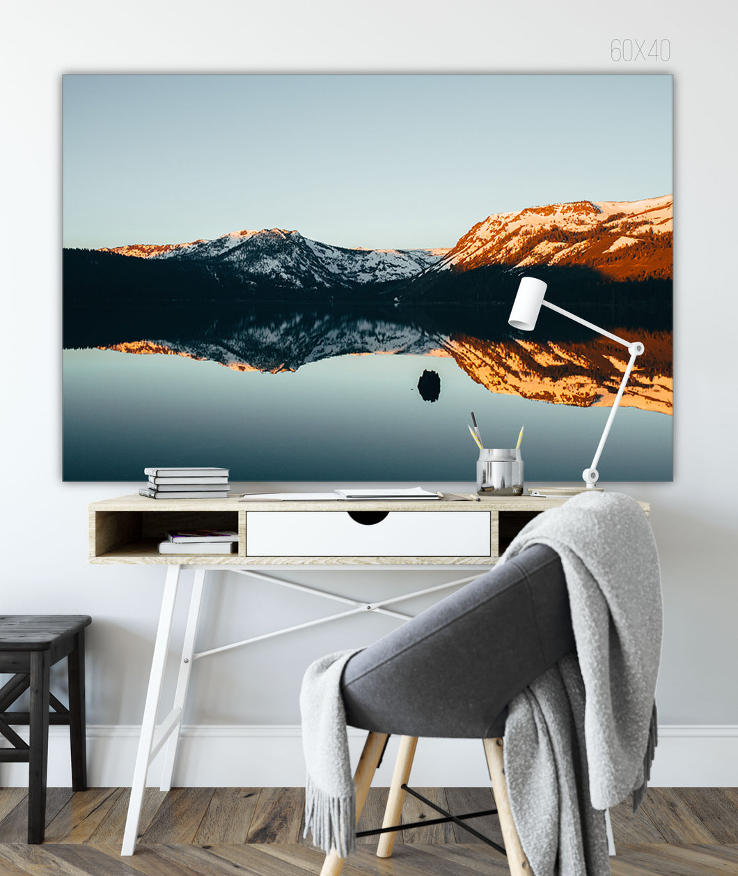 Forex Foam Print | Les Classics: Fallen Leaf Lake 2114 - Lemonee on the Hills