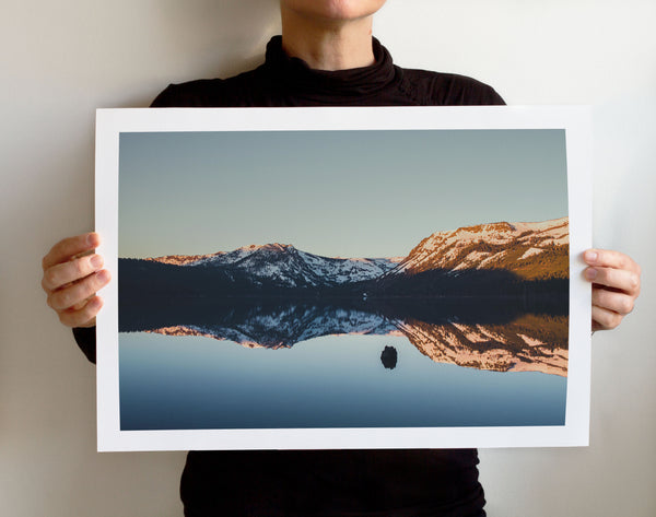 Matte Print | Les Classics: Fallen Leaf Lake 2114 - Lemonee on the Hills