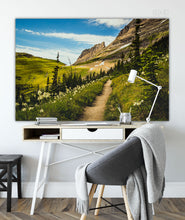 Load image into Gallery viewer, Forex Foam Print | The US National Parks: Glacier 0125 - Lemonee on the Hills