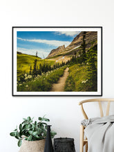 Load image into Gallery viewer, Matte Print | The US National Parks: Glacier 0125 - Lemonee on the Hills