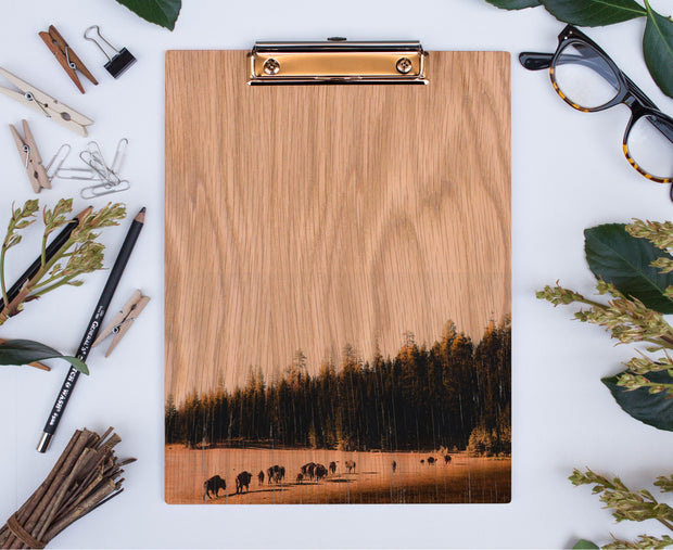 Real Wood Clipboard   National Parks: Grand Canyon 1919 1