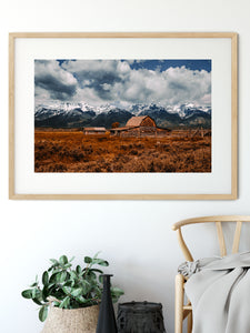 Matte Print | The US National Parks: Grand Teton 9904 - Lemonee on the Hills