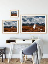Load image into Gallery viewer, Matte Print | The US National Parks: Grand Teton 9904 - Lemonee on the Hills