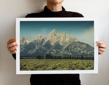 Load image into Gallery viewer, Matte Print | The US National Parks: Grand Teton 0896 - Lemonee on the Hills