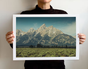 Matte Print | The US National Parks: Grand Teton 0896 - Lemonee on the Hills