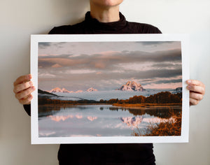 Matte Print | The US National Parks: Grand Teton 9886 - Lemonee on the Hills
