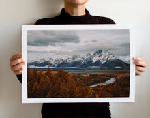 Load image into Gallery viewer, Matte Print | The US National Parks: Grand Teton 9893 - Lemonee on the Hills