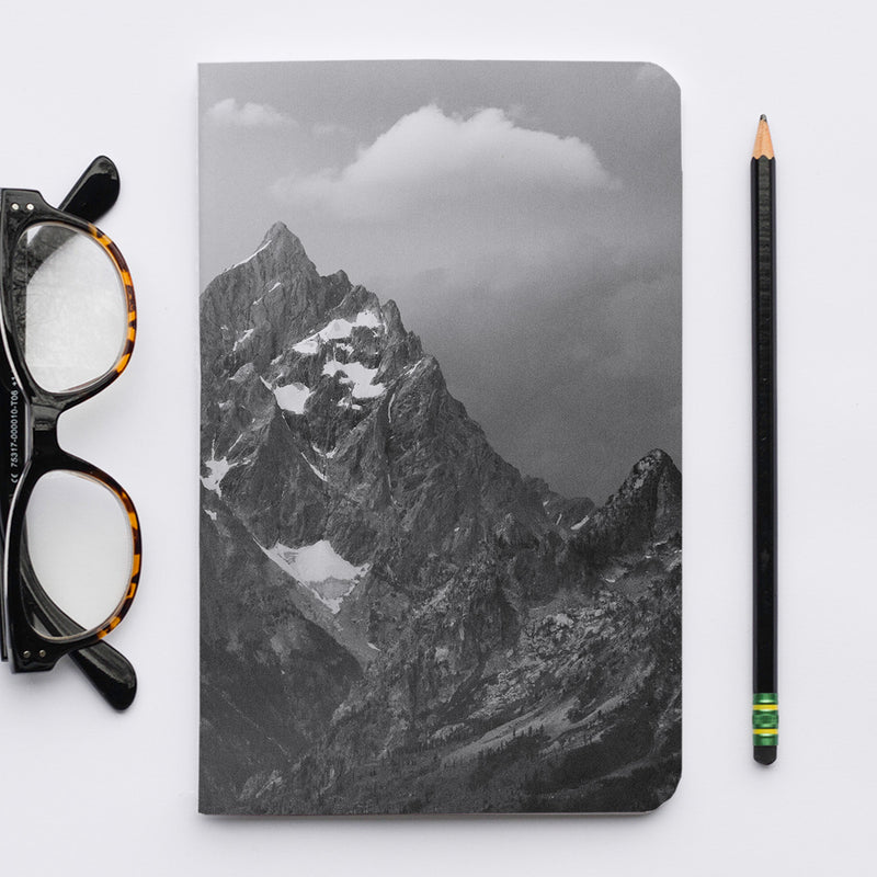 Stitched Notebook | The US National Parks: Grand Teton 1048 - Lemonee on the Hills
