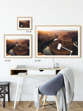 Load image into Gallery viewer, Matte Print | Southwest: Horseshoe Bend 0058 - Lemonee on the Hills