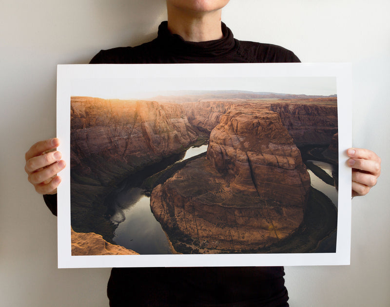 Matte Print | Southwest: Horseshoe Bend 0058 - Lemonee on the Hills