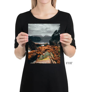 Matte Print | The Pacific Northwest: Howe Sound 0320 - Lemonee on the Hills