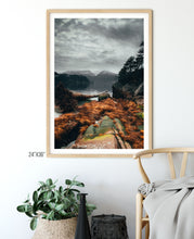 Load image into Gallery viewer, Matte Print | The Pacific Northwest: Howe Sound 0320 - Lemonee on the Hills