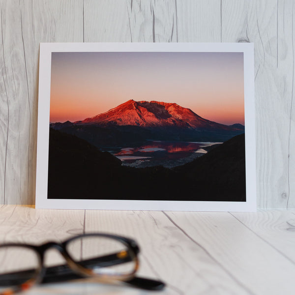8x10 inches Art Print: Mt St-Helens 9356