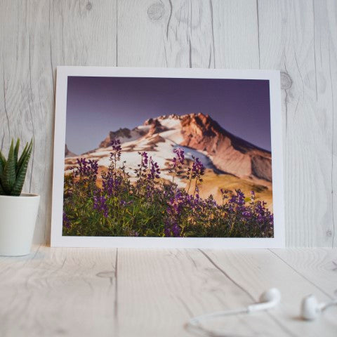 8x10 inches Art Print: Mt Hood 9109