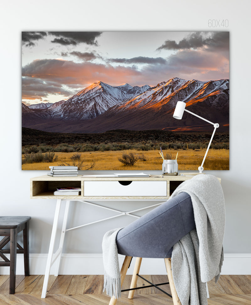 Forex Foam Print | Les Sierras: Eastern Sierras 4860 - Lemonee on the Hills