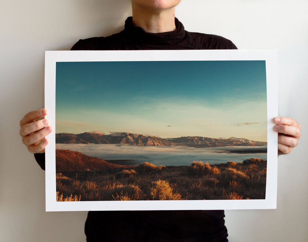 Matte Print | Les Sierras: Sierra 1394 - Lemonee on the Hills