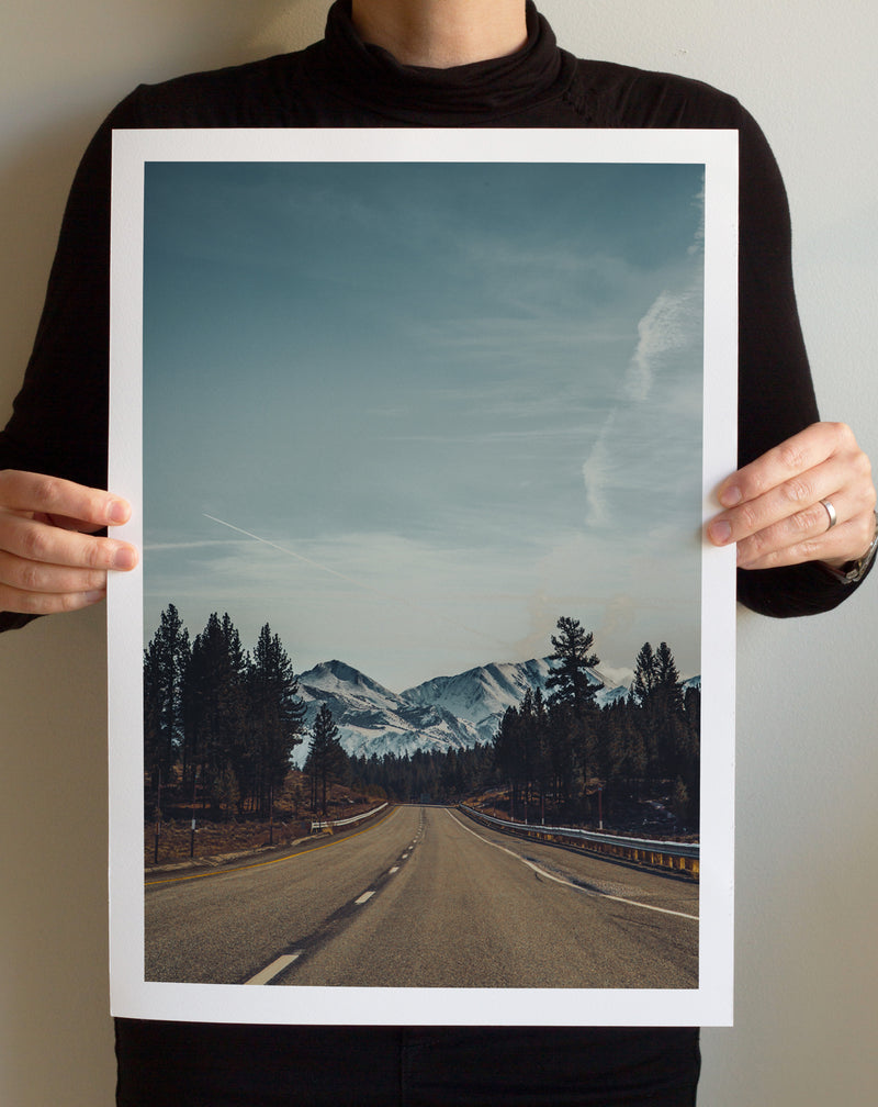 Matte Print | Les Sierras: Sierra 4721 - Lemonee on the Hills