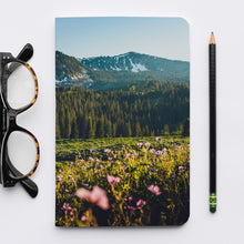 Load image into Gallery viewer, Stitched Notebook | Les Classics: Guardsman Pass 2987 - Lemonee on the Hills