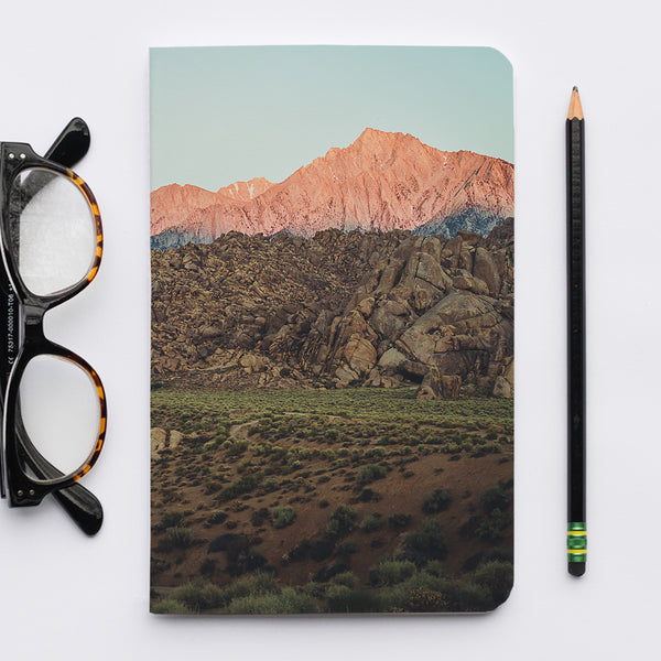 Stitched Notebook | Les Classics: Alabama Hills 3886 - Lemonee on the Hills