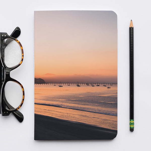 Stitched Notebook | Les Classics: Avila Beach 9663 - Lemonee on the Hills