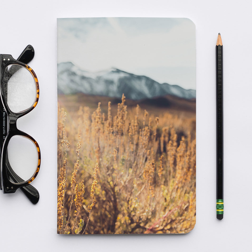 Stitched Notebook | Les Sierras: Sierras 4730 - Lemonee on the Hills