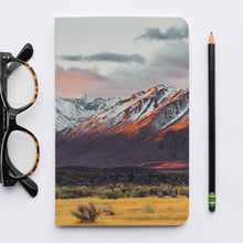 Load image into Gallery viewer, Stitched Notebook. Les Sierras: Sierras 4860 - Lemonee on the Hills
