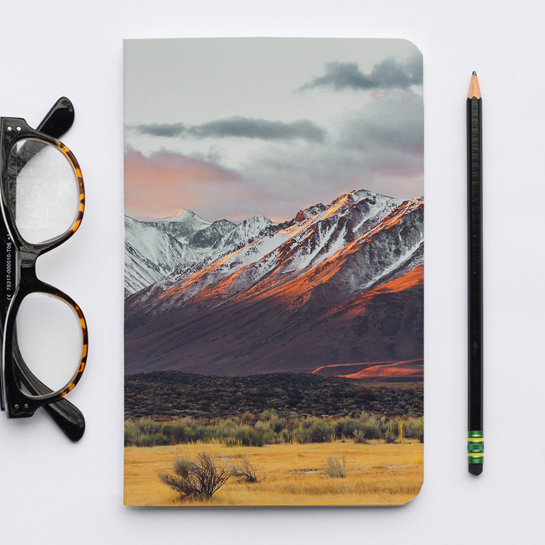 Stitched Notebook | Les Sierras: Sierras 4860 - Lemonee on the Hills