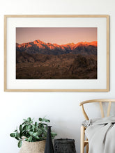 Load image into Gallery viewer, Matte Print | Les Sierras: Alabama Hills 0706 - Lemonee on the Hills