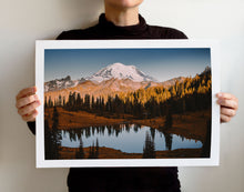 Load image into Gallery viewer, Matte Print | The Pacific Northwest: Rainier 0366 - Lemonee on the Hills