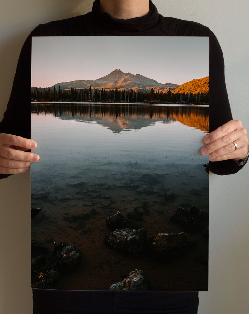 Matte Print | The Pacific Northwest: Spark Lake 9024 - Lemonee on the Hills