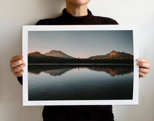 Matte Print | The Pacific Northwest: Spark Lake 9019 - Lemonee on the Hills