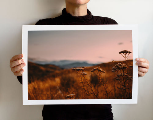 Matte Print | The Pacific Northwest: Twisp 0278 - Lemonee on the Hills