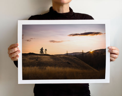 Matte Print | The Pacific Northwest: Twisp 0280 - Lemonee on the Hills