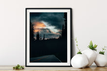 Load image into Gallery viewer, Matte Print | The US National Parks: Rainier 0362 - Lemonee on the Hills