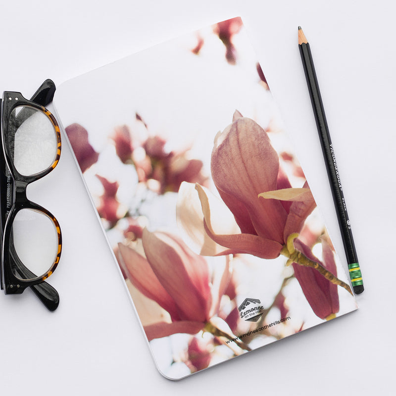 Stitched Notebook | Efflorescence 9256 - Lemonee on the Hills