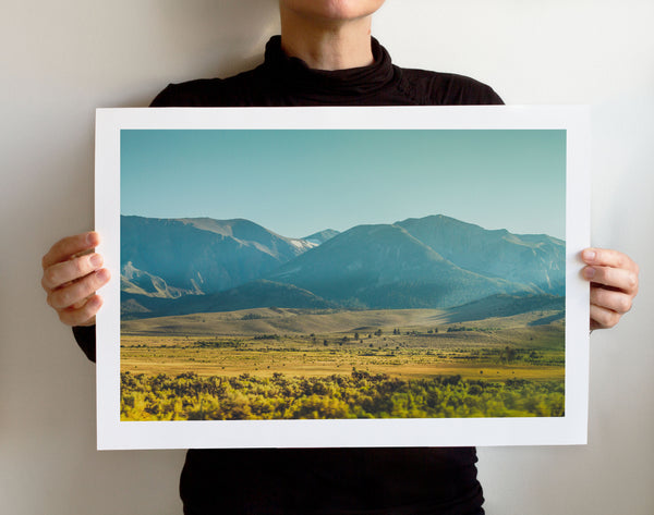 Matte Print | Les Classics: Sierra Mountains - Lemonee on the Hills