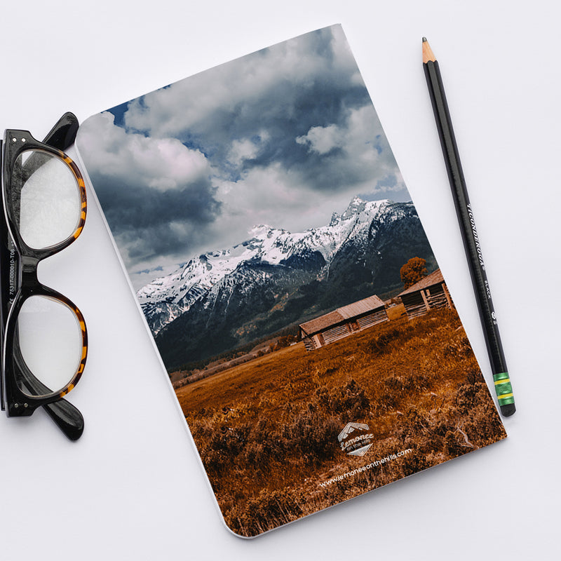 Stitched Notebook | The US National Parks: Grand Teton 9904 - Lemonee on the Hills