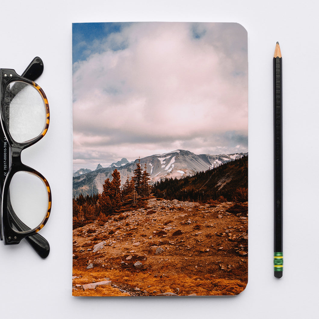 Stitched Notebook | The Pacific Northwest: Rainier 0311 - Lemonee on the Hills