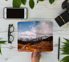 Load image into Gallery viewer, Stitched Notebook | The Pacific Northwest: Rainier 0311 - Lemonee on the Hills