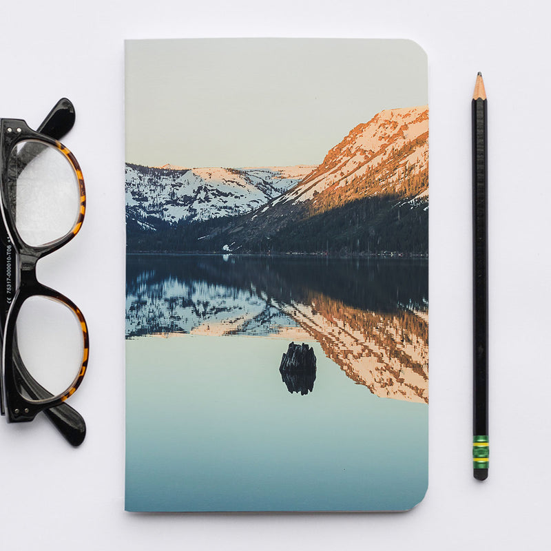 Stitched Notebook | Les Classics: Fallen Leaf Lake 2114 - Lemonee on the Hills
