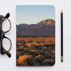 Stitched Notebook | Les Sierras: Sierras 0433 - Lemonee on the Hills