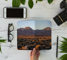Load image into Gallery viewer, Stitched Notebook | Les Sierras: Sierras 0433 - Lemonee on the Hills
