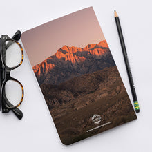 Load image into Gallery viewer, Stitched Notebook | Les Sierras: Sierras 0706 - Lemonee on the Hills