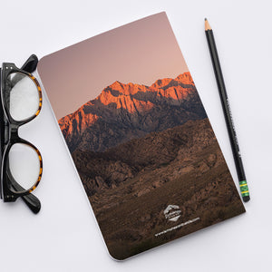 Stitched Notebook | Les Sierras: Sierras 0706 - Lemonee on the Hills