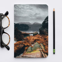 Load image into Gallery viewer, Stitched Notebook | The Pacific Northwest Howe Sound 0320 - Lemonee on the Hills