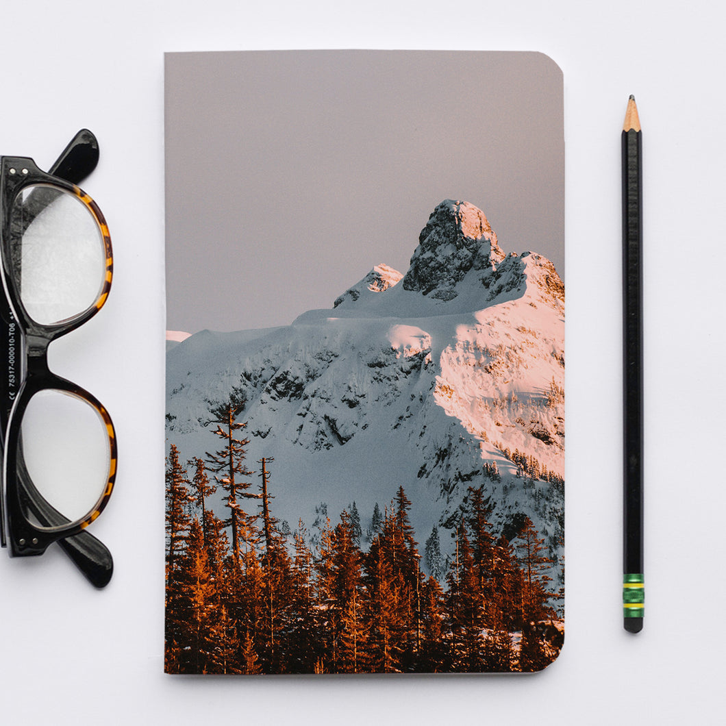 Stitched Notebook. The Pacific Northwest: Squamish 0404 - Lemonee on the Hills
