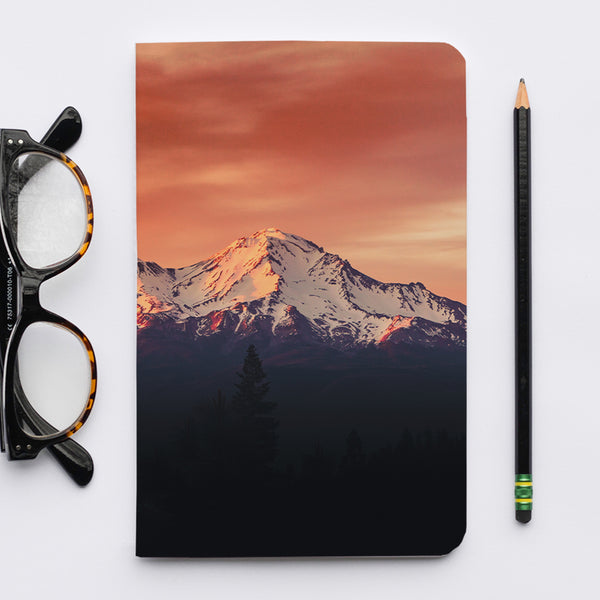Stitched Notebook | The Pacific Northwest: Shasta 7570 - Lemonee on the Hills