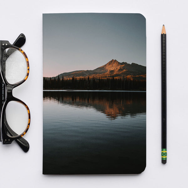 Stitched Notebook | The Pacific Northwest: Spark Lake 9019 - Lemonee on the Hills