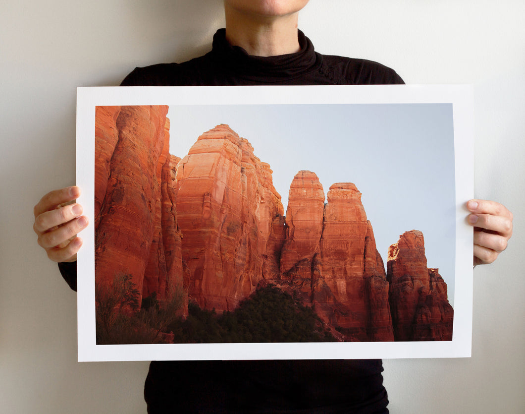 Matte Print | Southwest: Sedona 0784 - Lemonee on the Hills